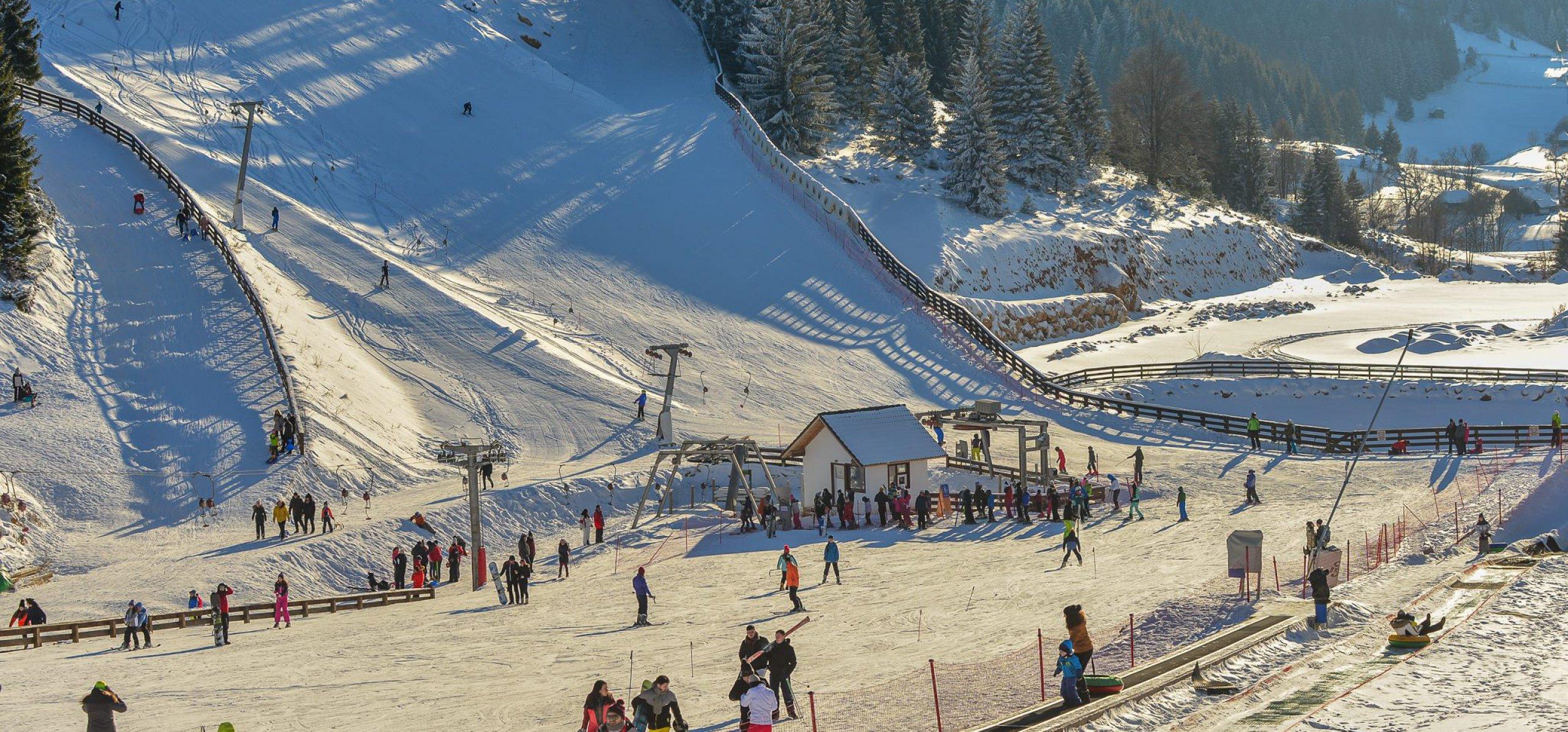 Partia de schi CheileGradistei Fundata